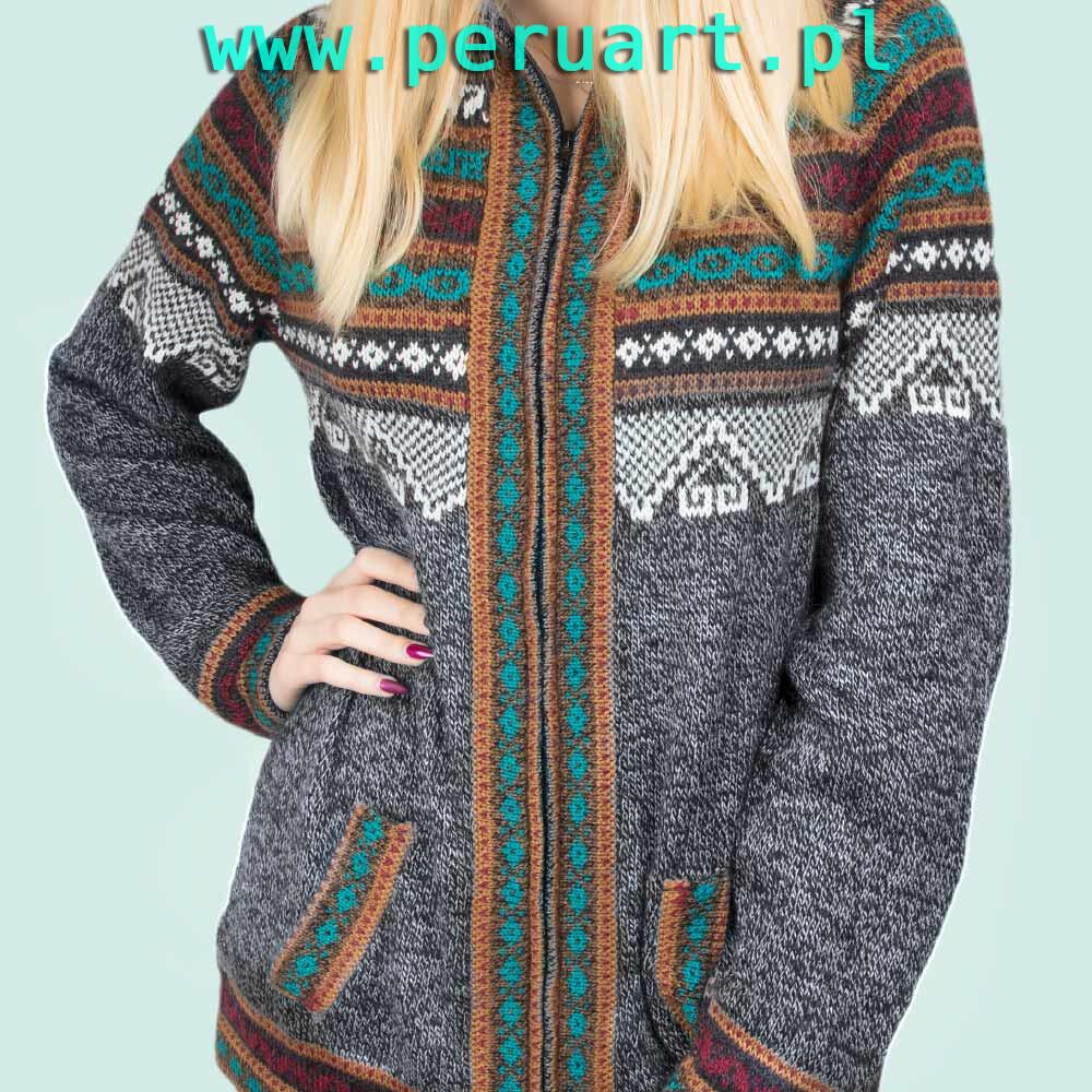 dostępny najlepsza strona internetowa cienie sweter etniczny